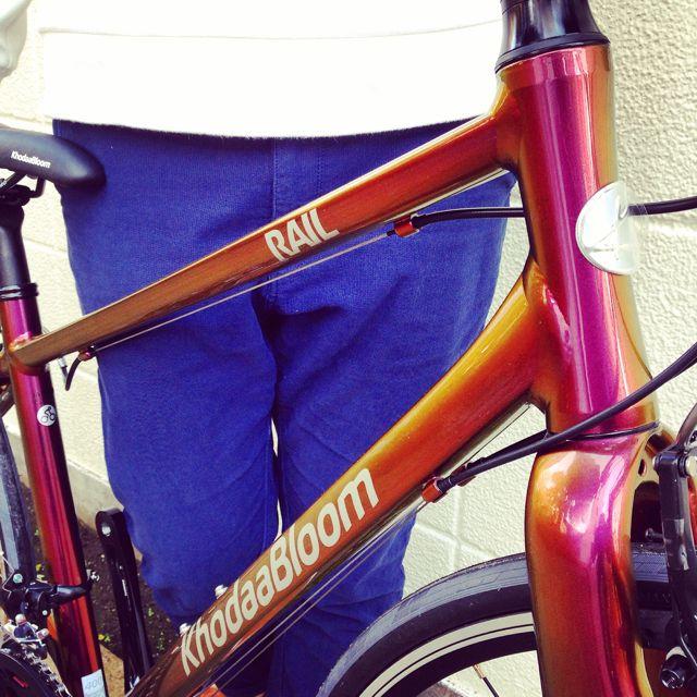 ☆限定モデル☆KhodaaBloom x 日本ペイント x「Rail 700SL」マジョーラカラー コーダーブルーム 自転車_b0212032_2114221.jpg