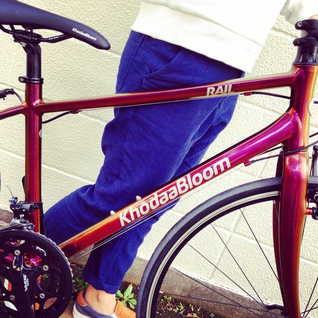 ☆限定モデル☆KhodaaBloom x 日本ペイント x「Rail 700SL」マジョーラカラー コーダーブルーム 自転車_b0212032_21143213.jpg