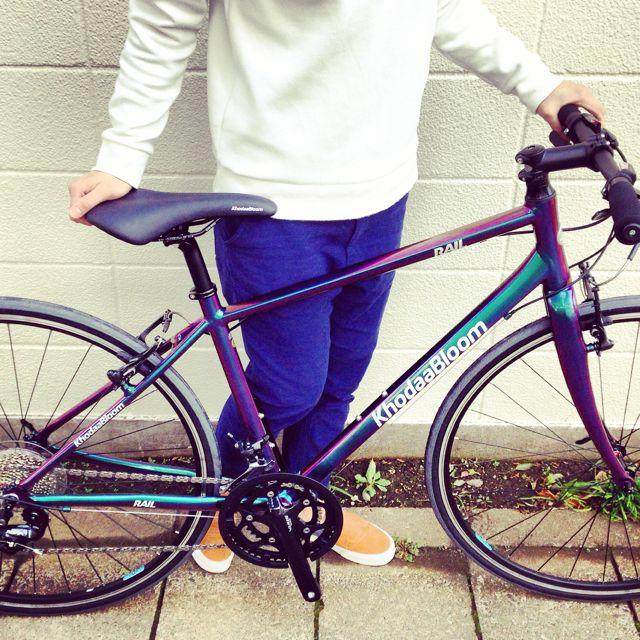 ☆限定モデル☆KhodaaBloom x 日本ペイント x「Rail 700SL」マジョーラカラー コーダーブルーム 自転車_b0212032_21155486.jpg