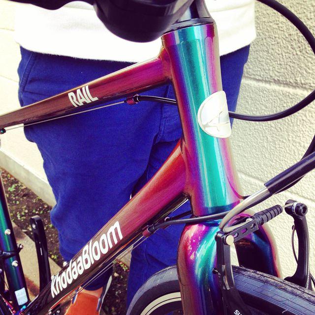 ☆限定モデル☆KhodaaBloom x 日本ペイント x「Rail 700SL」マジョーラカラー コーダーブルーム 自転車_b0212032_21162347.jpg