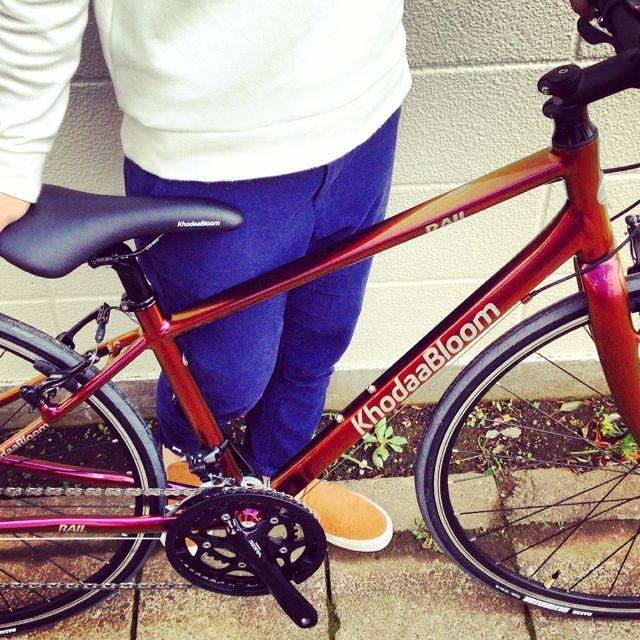 ☆限定モデル☆KhodaaBloom x 日本ペイント x「Rail 700SL」マジョーラカラー コーダーブルーム 自転車_b0212032_2116467.jpg