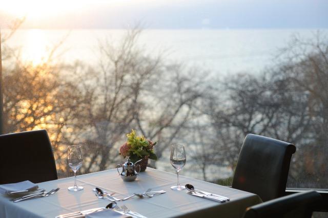 近江の湖畔レストランへ --LE POINT DE VUE(ル・ポワン・ドゥ・ヴュ)--_b0078651_0201694.jpg