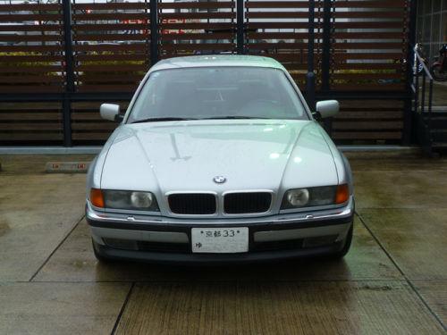珍しい訪問者 クルマ編5 BMW 740iA_e0254365_2045543.jpg