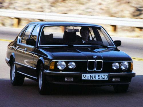 珍しい訪問者 クルマ編5 BMW 740iA_e0254365_20492771.jpg