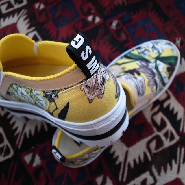 MSGM SLIPON YELLOW PRINT_f0111683_19301118.jpg