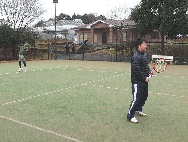ネストテニスクラブとの親善試合を開催_b0114798_11213847.jpg