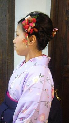 3月の袴の着付け&振袖 part 1_a0123703_170355.jpg