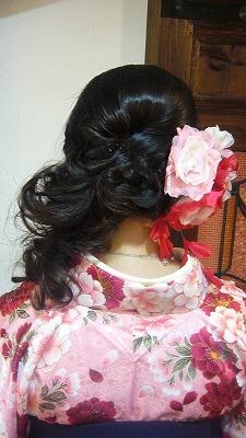 3月の袴の着付け&振袖 part 1_a0123703_170480.jpg