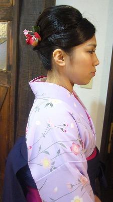 3月の袴の着付け&振袖 part 1_a0123703_1711311.jpg