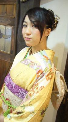 3月の袴の着付け&振袖 part 1_a0123703_1721192.jpg