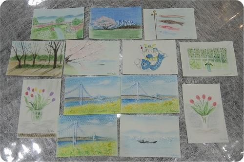 春を呼ぶパステル画_f0223914_19245533.jpg