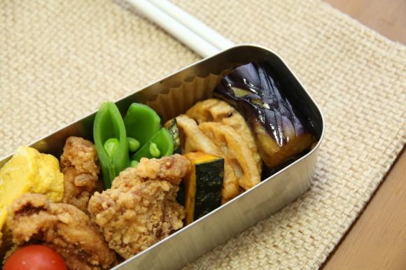 青豆ごはん和風弁当&朝食は、ハムサンド。_c0326245_09305251.jpg