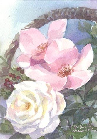 薔薇 小作品_f0176370_1552832.jpg