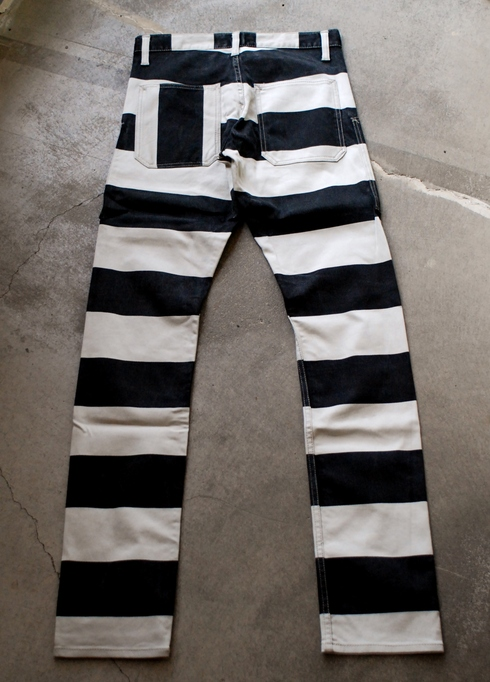 入荷案内 Prisoner stretch slim pants_e0254972_1620243.jpg
