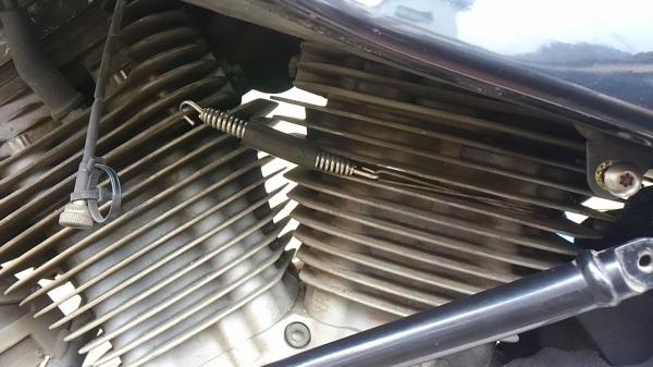 XB12X 排気管の顛末とハンドル_e0086244_1773642.jpg