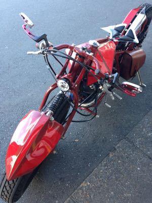 本日のバイク‼︎_f0194657_1658551.jpg