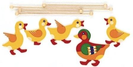 ドイツ・ヘラー社の木製モビール「ピエロ」_a0121669_15160118.jpg