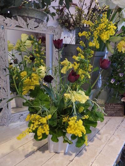 オークリーフ花の教室(甘艸さんと大草さんの作品)_f0049672_1883767.jpg