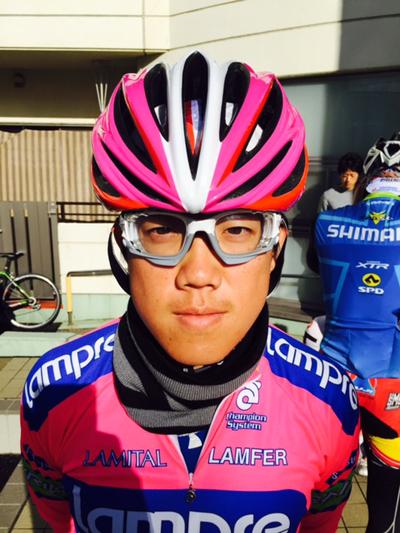 金栄堂サポート:日本大学自転車競技部・大村恒平選手アイウェアインプレッション!_c0003493_10101838.jpg