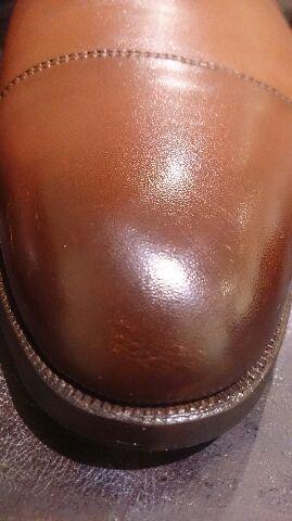 二種類の色の靴のお手入れは…_b0226322_18393547.jpg