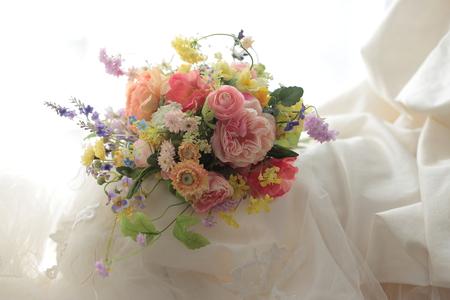 造花のブーケ、一度だけ  _a0042928_18141564.jpg