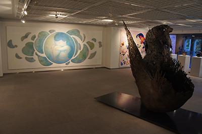 横浜美術大学卒業制作有志展「地点」開催中です。_f0171840_12500893.jpg