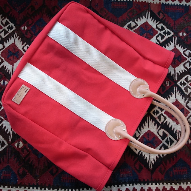 BUDDY DOG CARRY TOTE RED_f0111683_17280762.jpg