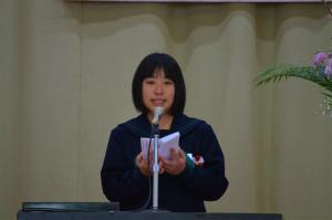諸鈍小中学校卒業式!_e0028387_14195465.jpg