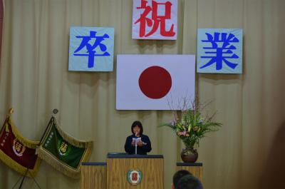 諸鈍小中学校卒業式!_e0028387_1420834.jpg