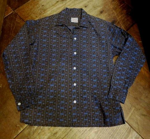 3/14(土)入荷!60'S オープンカラーボックスシャツ!_c0144020_14211331.jpg