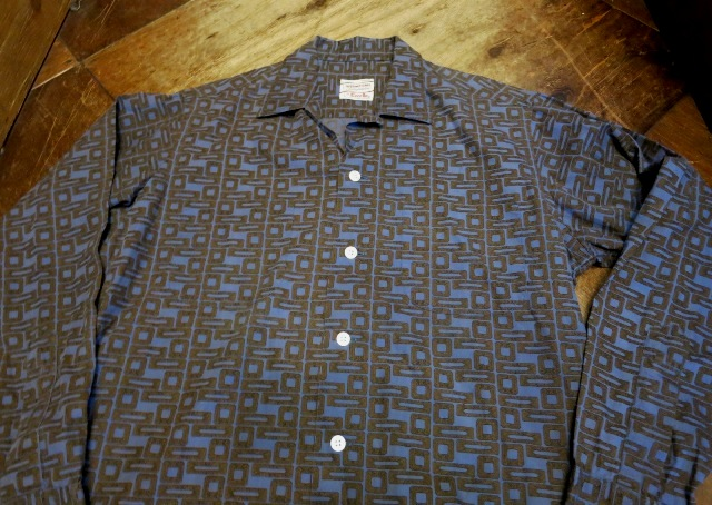 3/14(土)入荷!60'S オープンカラーボックスシャツ!_c0144020_14211511.jpg