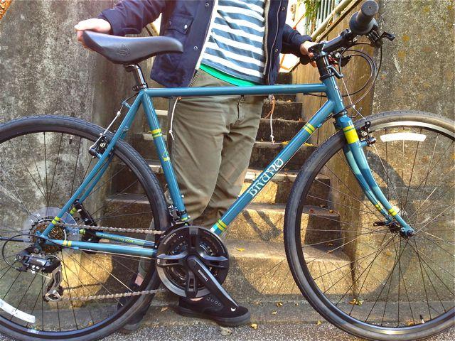 BRUNO 2015『Black Edition』ミキスト ミニベロ 700c ブルーノ おしゃれ 女子 自転車 リピトデザイン_b0212032_17204024.jpg