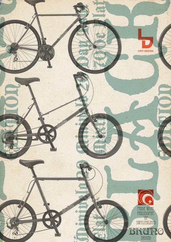 BRUNO 2015『Black Edition』ミキスト ミニベロ 700c ブルーノ おしゃれ 女子 自転車 リピトデザイン_b0212032_18211952.jpg