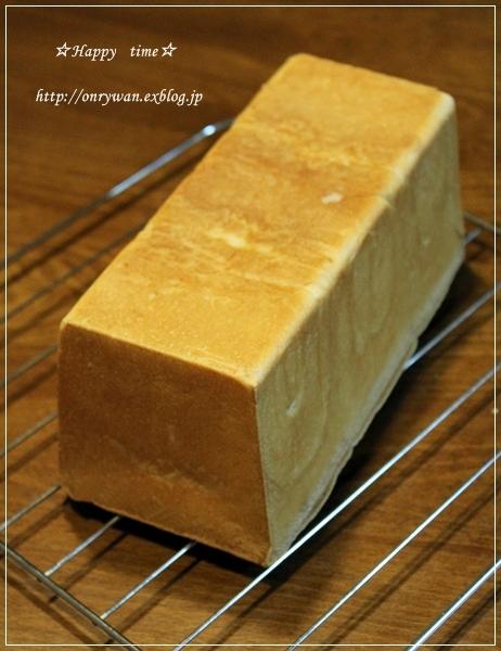 豚キャベ厚揚げの味噌炒め弁当と角食パン♪_f0348032_19162613.jpg
