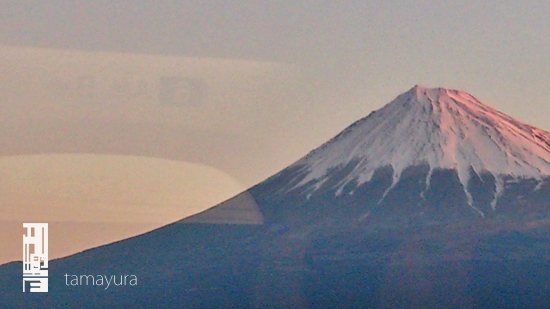 朝焼けの富士山_c0187754_9273112.jpg