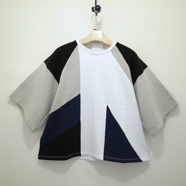 MSGM COLOR BLOCK SWEAT TOP_f0111683_12120039.jpg