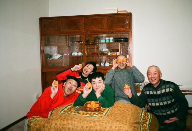 胸がドキドキ正月、和尚坊主は3名。_f0170995_1022313.jpg