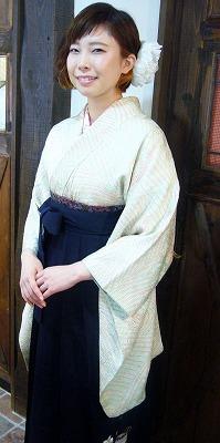 袴の着付けとセットメーク その2_a0123703_191194.jpg