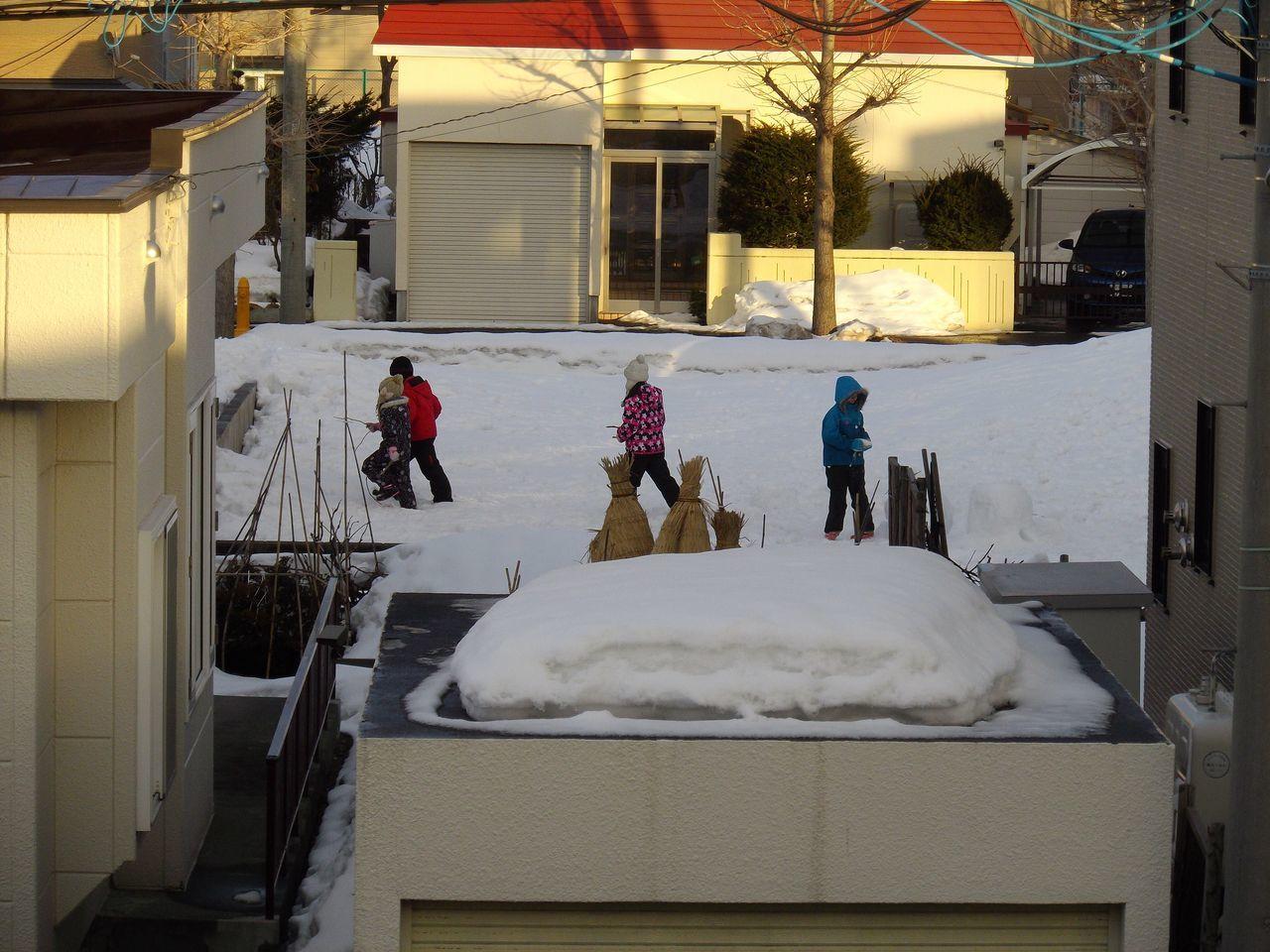 冬と春が同居する札幌_c0025115_21412288.jpg