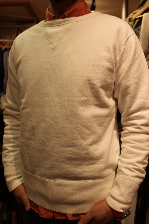 "ANACHRONORM ""FLEECE CREWNECK SWEATSHIRT\"" ご紹介_f0191324_9415264.jpg"