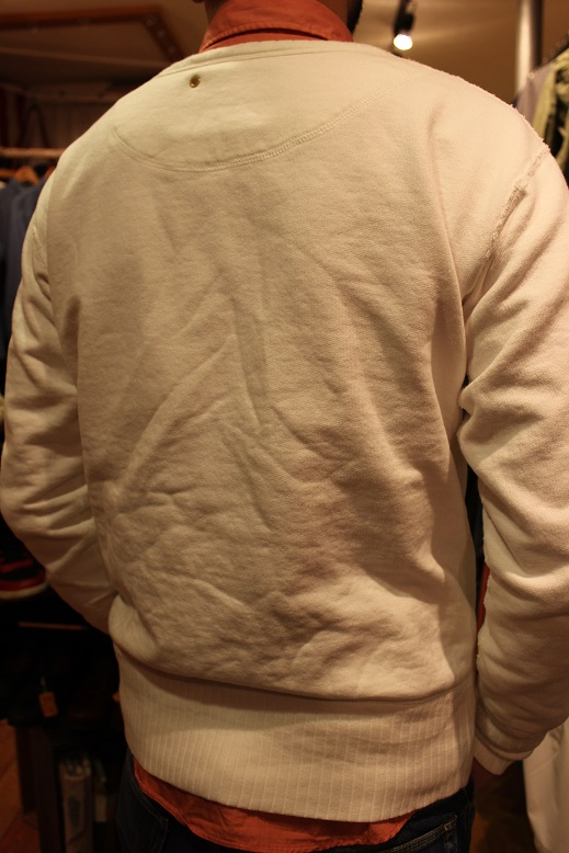 "ANACHRONORM ""FLEECE CREWNECK SWEATSHIRT\"" ご紹介_f0191324_9415810.jpg"