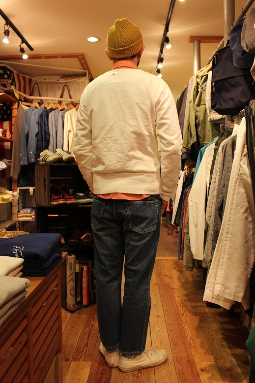 "ANACHRONORM ""FLEECE CREWNECK SWEATSHIRT\"" ご紹介_f0191324_9421192.jpg"