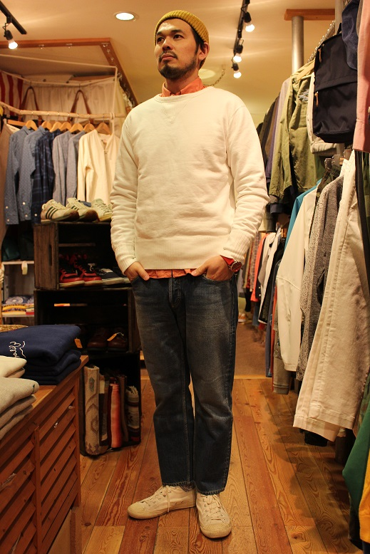 "ANACHRONORM ""FLEECE CREWNECK SWEATSHIRT\"" ご紹介_f0191324_942414.jpg"