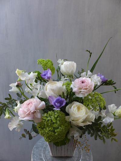 オークリーフ(お悔やみの花、春の草花で・・)_f0049672_11374342.jpg