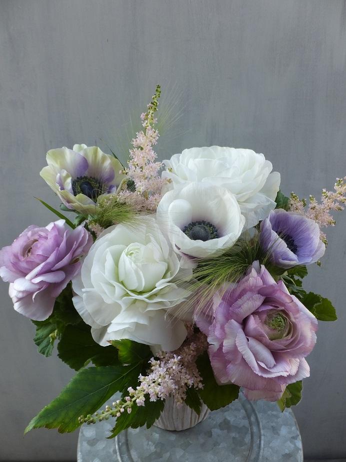 オークリーフ(お悔やみの花、春の草花で・・)_f0049672_11375538.jpg
