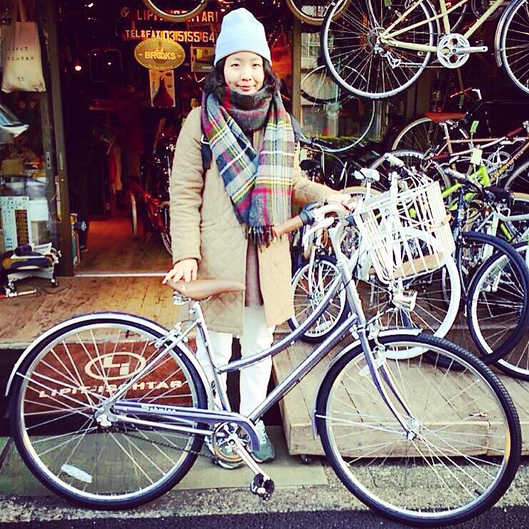 ☆今日のバイシクルガール10本立て☆ 自転車 女子 おしゃれ ミニベロ クロスバイク ロード_b0212032_20124079.jpg