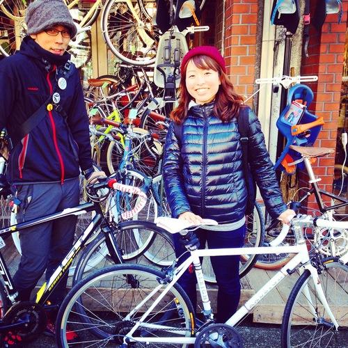☆今日のバイシクルガール10本立て☆ 自転車 女子 おしゃれ ミニベロ クロスバイク ロード_b0212032_20124939.jpg