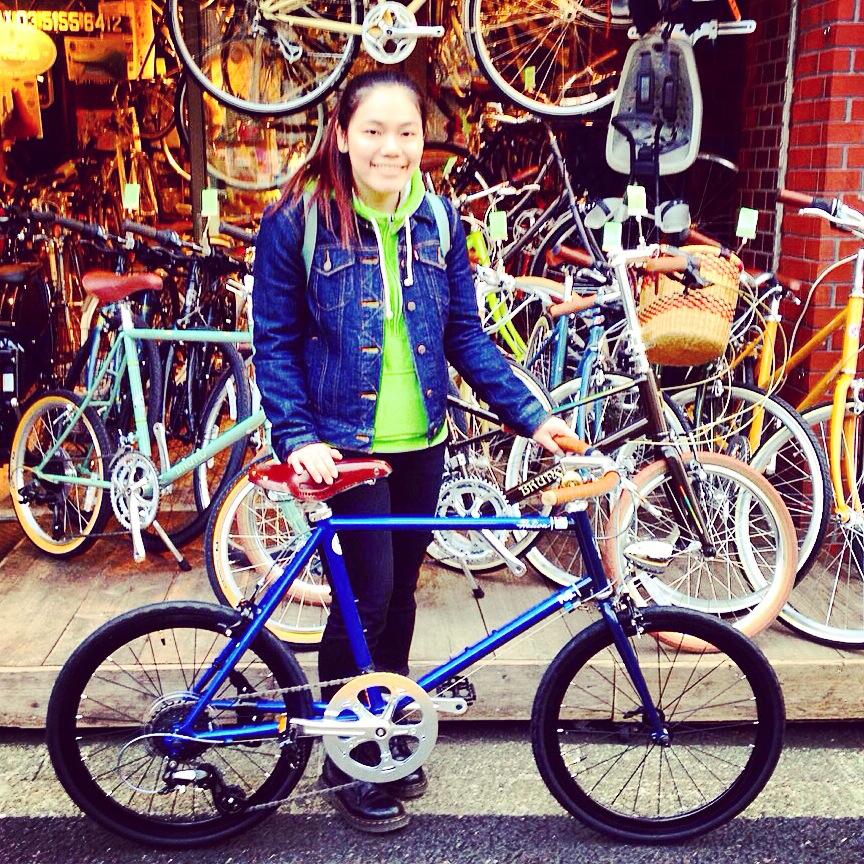 ☆今日のバイシクルガール10本立て☆ 自転車 女子 おしゃれ ミニベロ クロスバイク ロード_b0212032_2013257.jpg