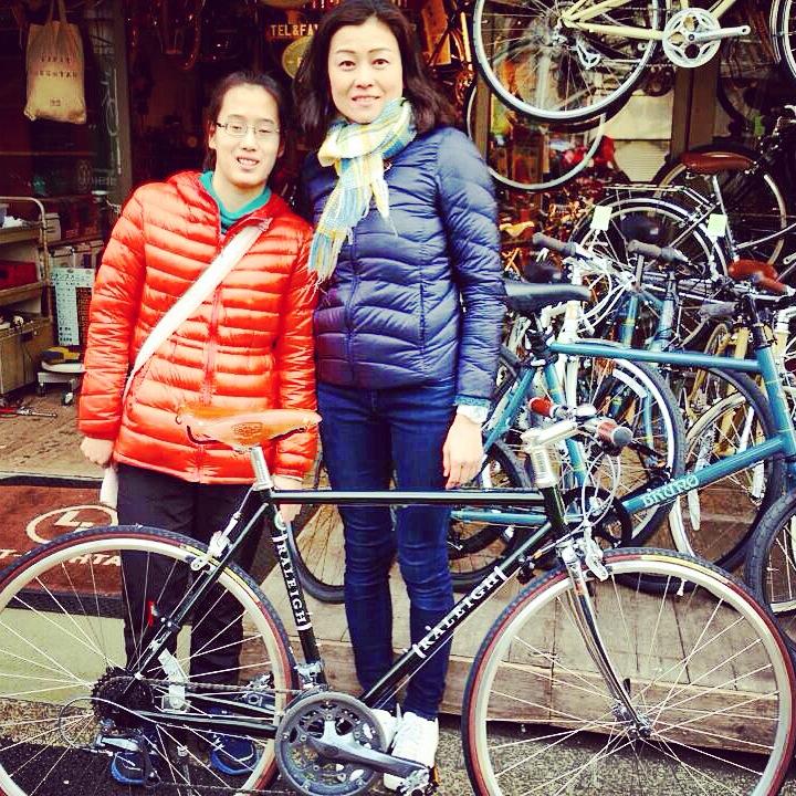 ☆今日のバイシクルガール10本立て☆ 自転車 女子 おしゃれ ミニベロ クロスバイク ロード_b0212032_2013361.jpg