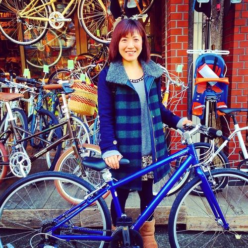 ☆今日のバイシクルガール10本立て☆ 自転車 女子 おしゃれ ミニベロ クロスバイク ロード_b0212032_20141399.jpg